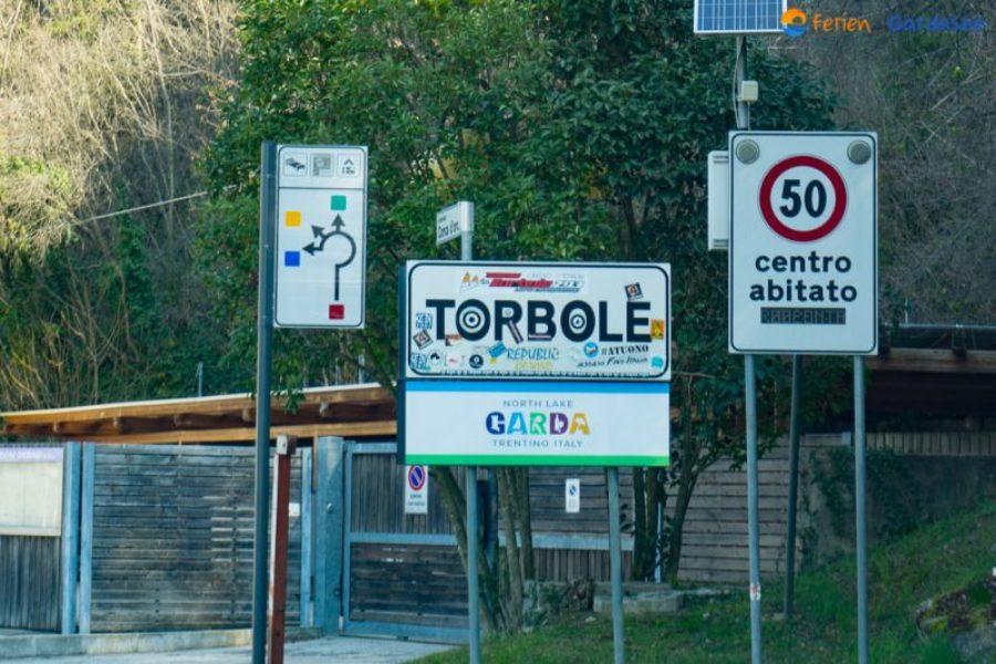 Torbole Nago Ortsschild